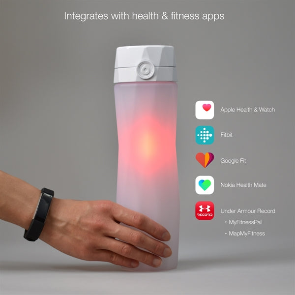 c89438474b ... 15 Customized Hidrate Spark 2.0 Illuminating Smart Water Bottle app  Campatible ...