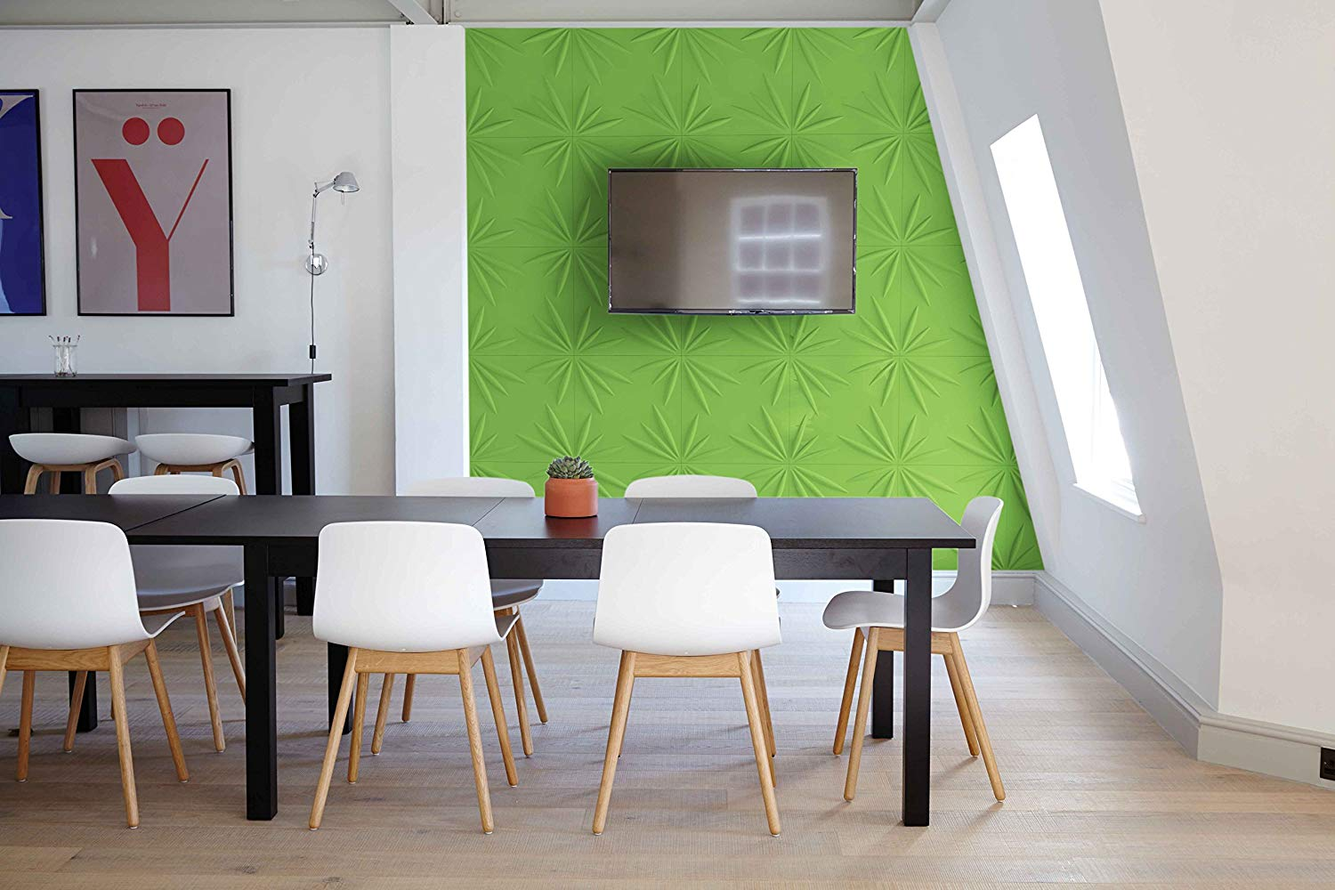 Milan Model Design Boards Decorative 3D Wall Panels Textured Pack of 12 Tiles