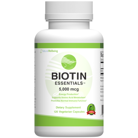 Biotin 5000 - Natural Wellbeing