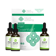 Hair Essentials + Fo-Ti Combo 90 Day