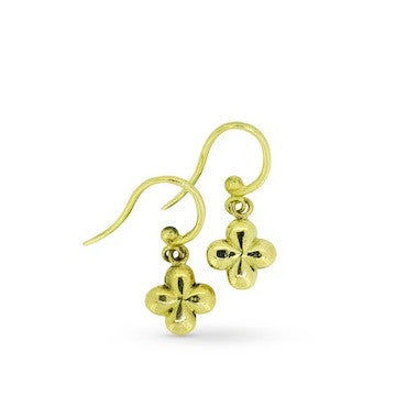 Luxe Florentine cross earrings