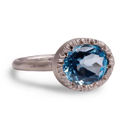 Topaz Forest Ring