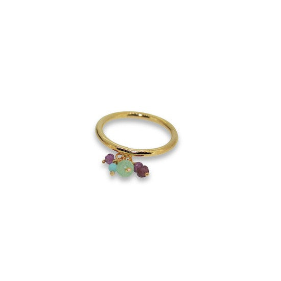 Bloom charm rings