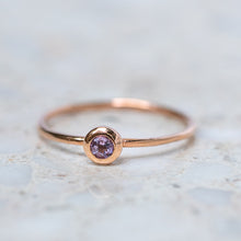 Amethyst Stacking Ring