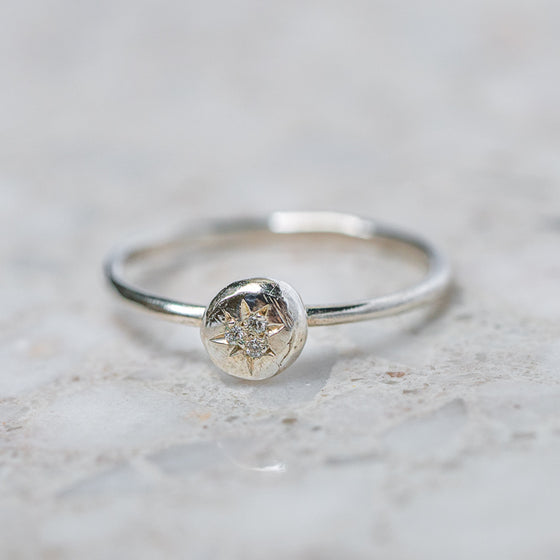 Mini Pebble Ring