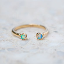 Open Opal Stacking Ring