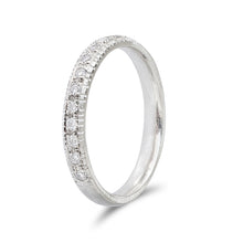 Raw Pave Diamond Band