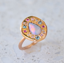 Versailles Opal Pebble Ring