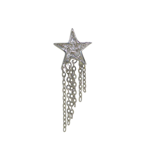 Waterfall Diamond Star Studs