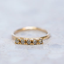 Ophelia's Salt & Pepper Diamond Ring