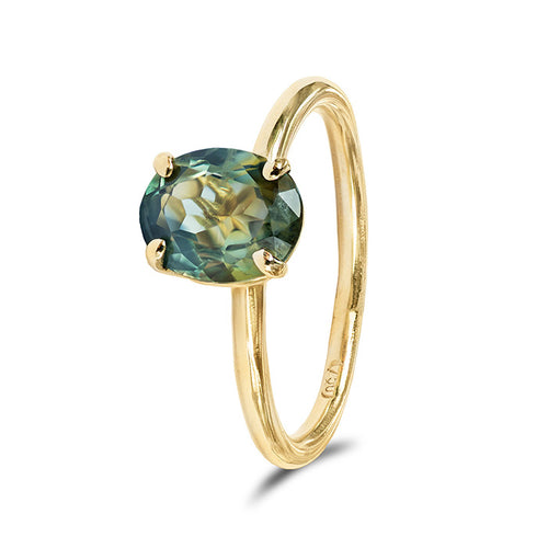 Parti Sapphire Claire Ring