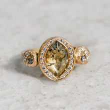 Marquise Diamond Assisi Ring