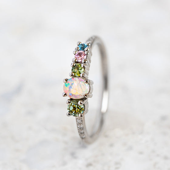 Mini Opal Splice Ring