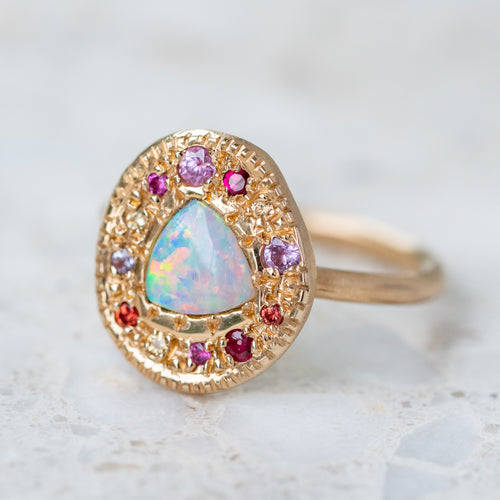 Opal Carnivale Pebble Ring