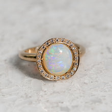Eclipse Opal  Ring