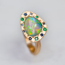 Shades of Ocean Opal Eclipse Ring