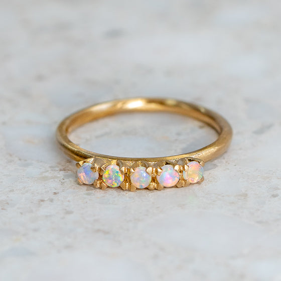Ophelia's Opal Ring