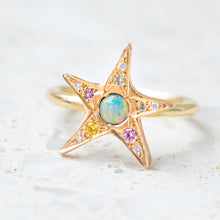 Wonky Star Ring