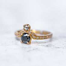 Black Diamond Adina Ring