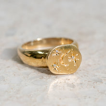 Stars and Moon Guard Ring