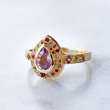 Pink Sapphire Theodoric Pebble Ring