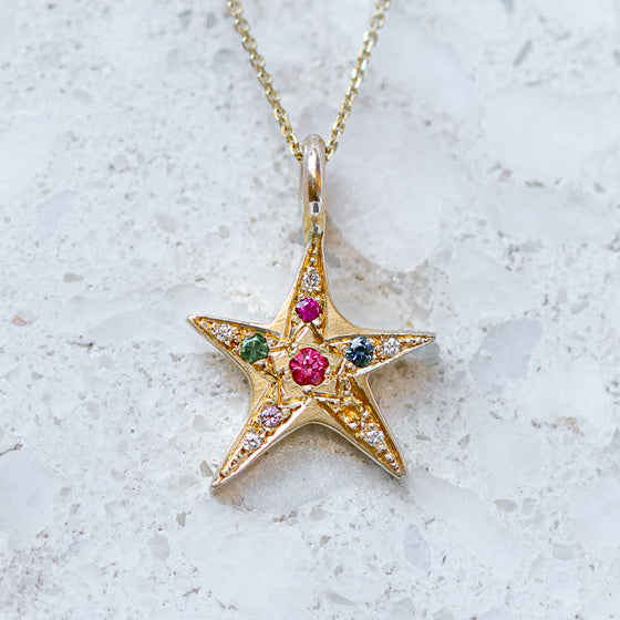 Wonky Star Necklace