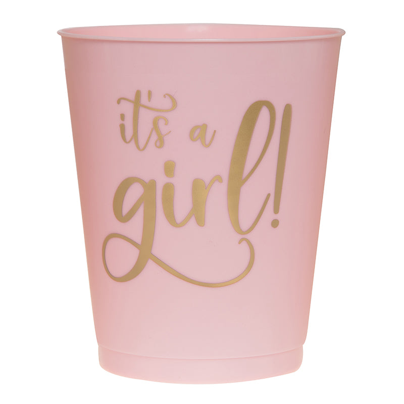 It's A Girl Party Cups