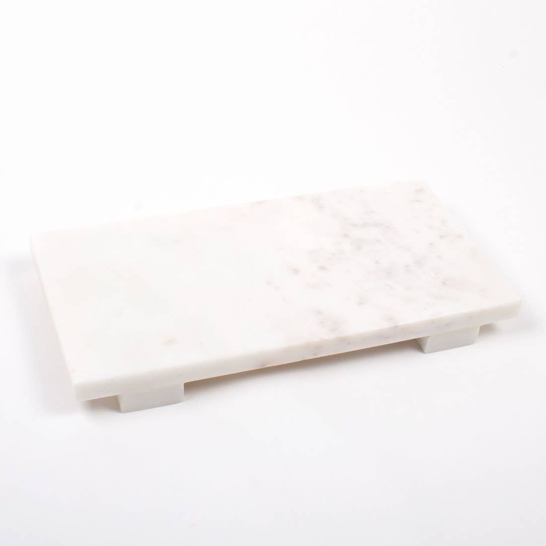 Large White Marble Cheese Board