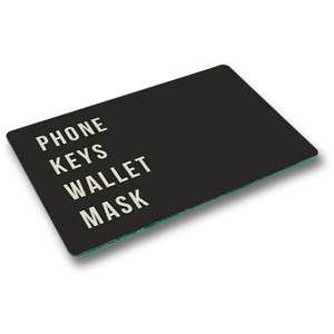 Phone Keys Wallet Mask Trinket Tray