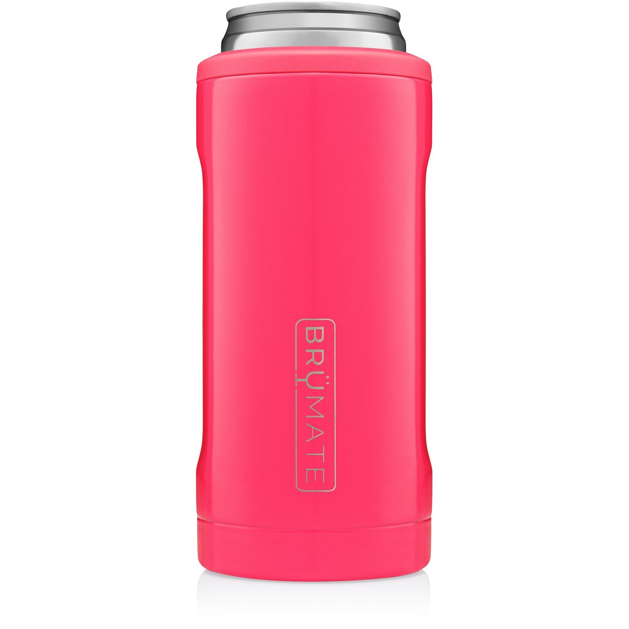 Hot Pink Hopsulator Slim Can Cooler