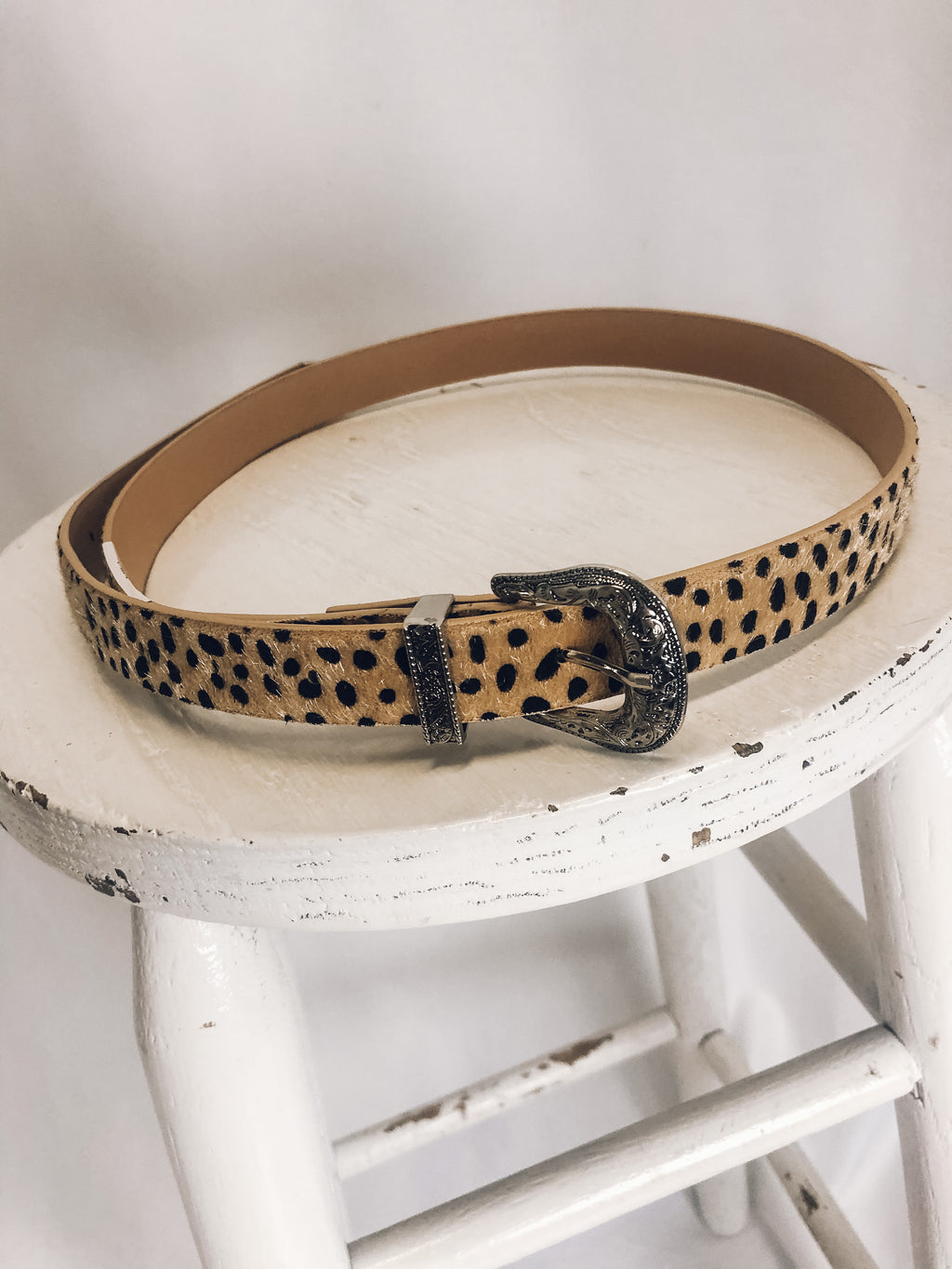 Harley Animal Print Belt