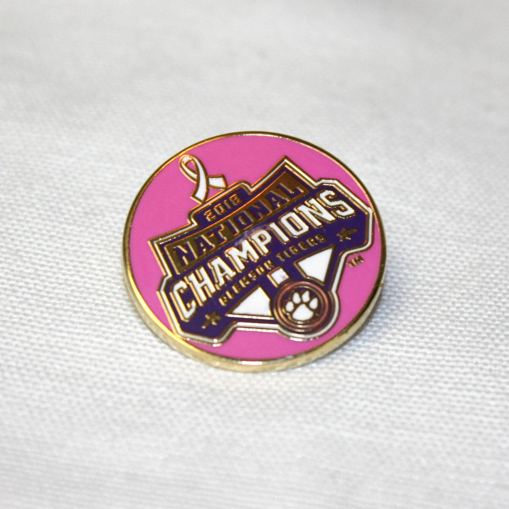 All In Foundation Breast Cancer Pin