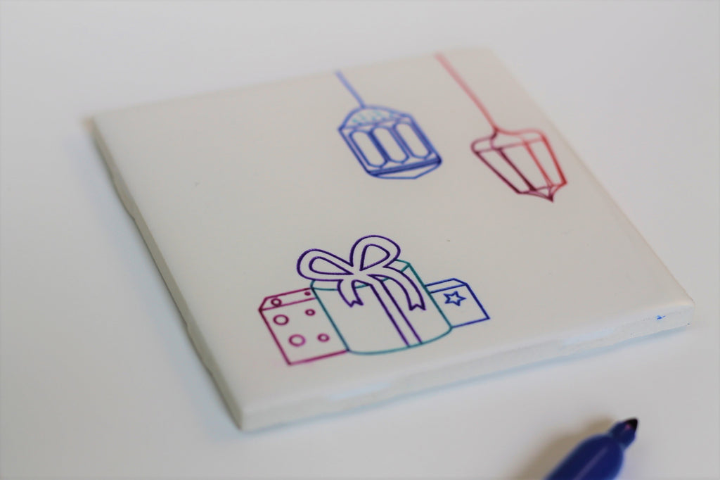 Ceramic Coasters - Color your own