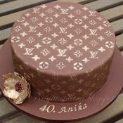 Louis Vuitton Cake Stencil