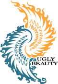 Ugly Beauty Logo Stencil