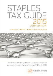 Staples Tax Guide 2015 75th edition (due April 2015)