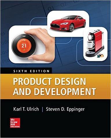 Product Design and Development 6th Edition