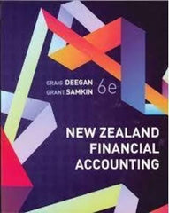 New Zealand Financial Accounting 6th Edition