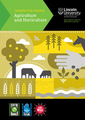 Agriculture and Horticulture Careers for Change Book