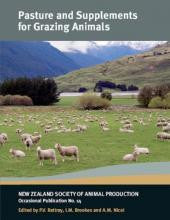 Pasture and Supplements for Grazing Animals