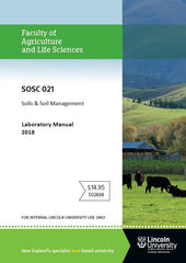 SOSC 021 LABORATORY MANUAL Soils & Soil Management