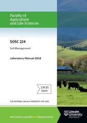 SOSC 224 SOIL MANAGEMENT LABORATORY MANUAL