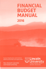 Financial Budget Manual 2016