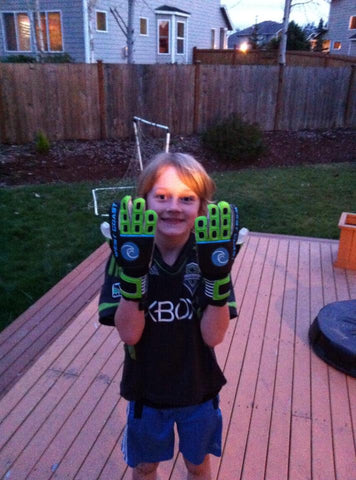 Dylan from Seattle wearing Fusion Pro Hybrids!