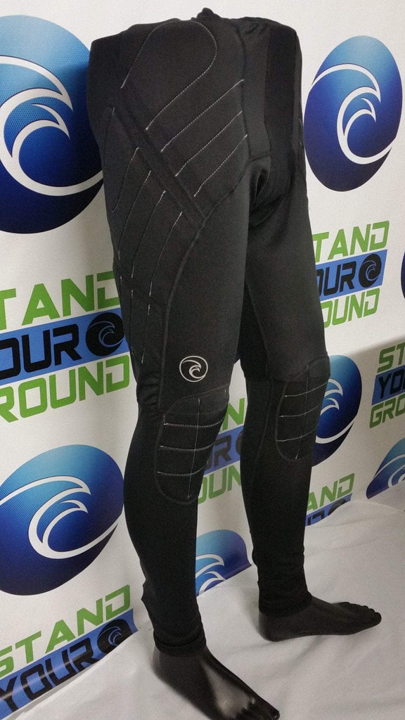 Padded Compression Long Pants - West Coast Goalkeeping