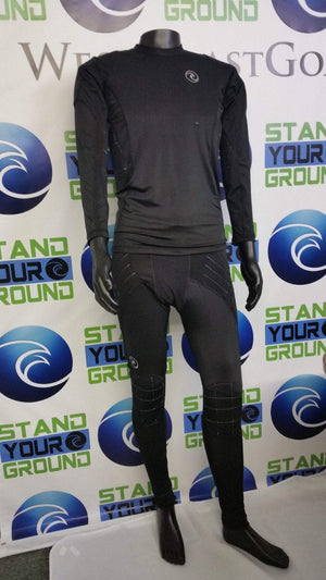 Padded Compression Long Pants - Fingersave Goalkeeper Gloves West Coast Goalkeeping