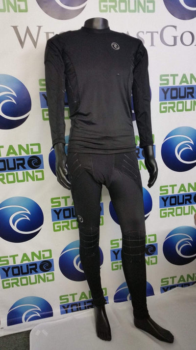 Padded Compression Long Sleeve Shirt - Fingersave Goalkeeper Gloves West Coast Goalkeeping