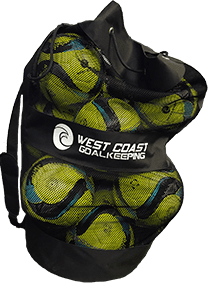 12 Match Balls with Free Carrying Bag - Fingersave Goalkeeper Gloves West Coast Goalkeeping