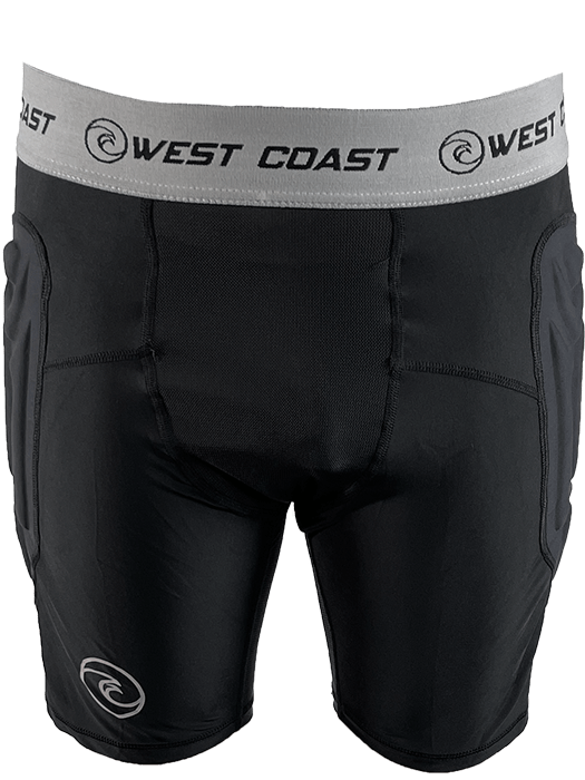 Padded BaseLayer Slider Shorts - West Coast Goalkeeping