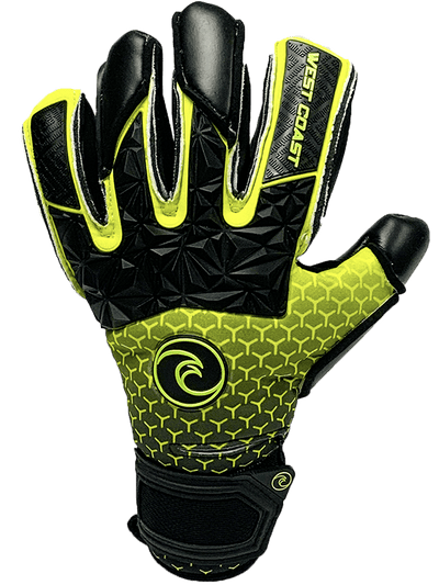 EXO-SKIN Electric Negative - Fingersave Goalkeeper Gloves West Coast Goalkeeping